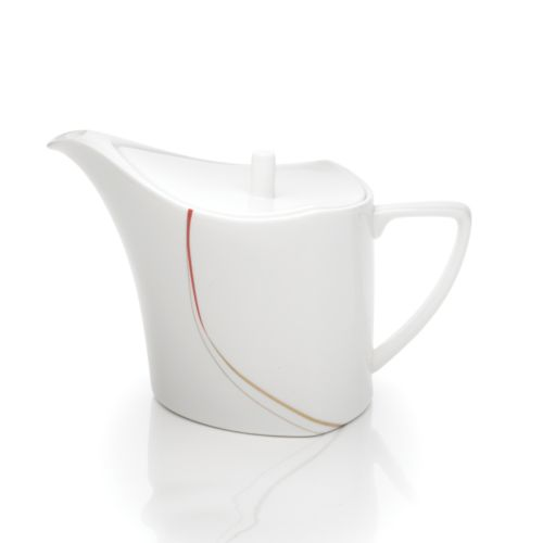 Mikasa Modernist Red Tea Server