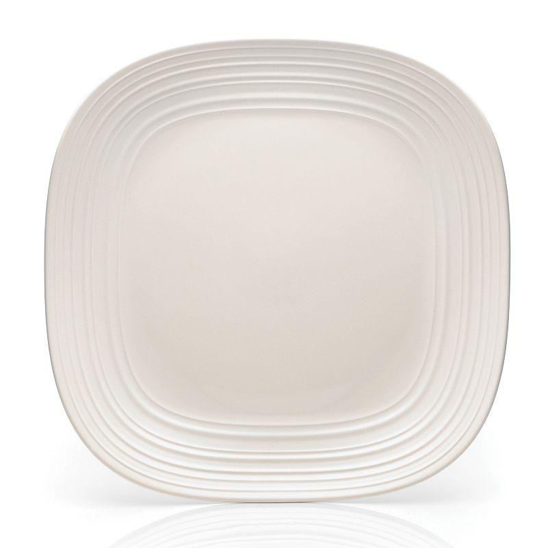 Mikasa Swirl White Square Platter