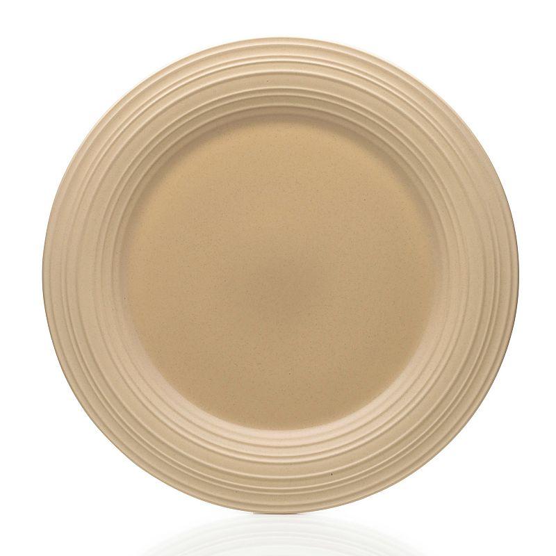 Mikasa Swirl Tan Round Platter
