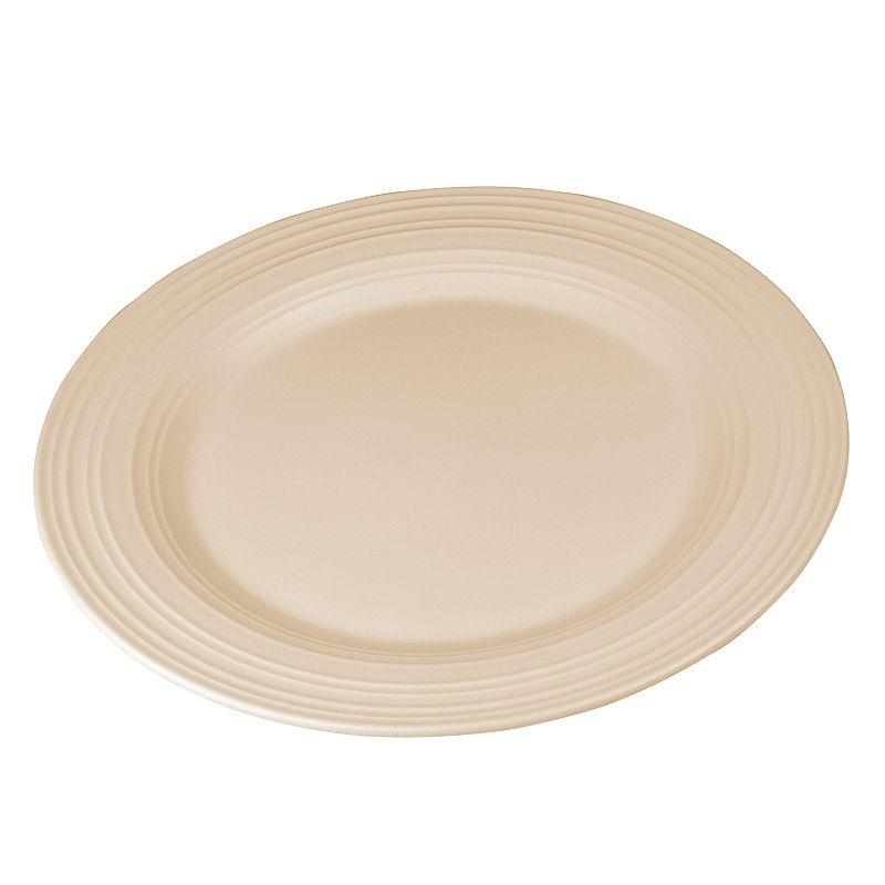 Mikasa Swirl Tan Platter