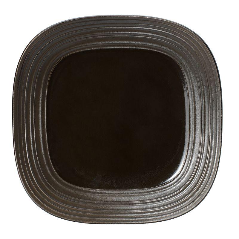 Mikasa Swirl Chocolate Square Platter