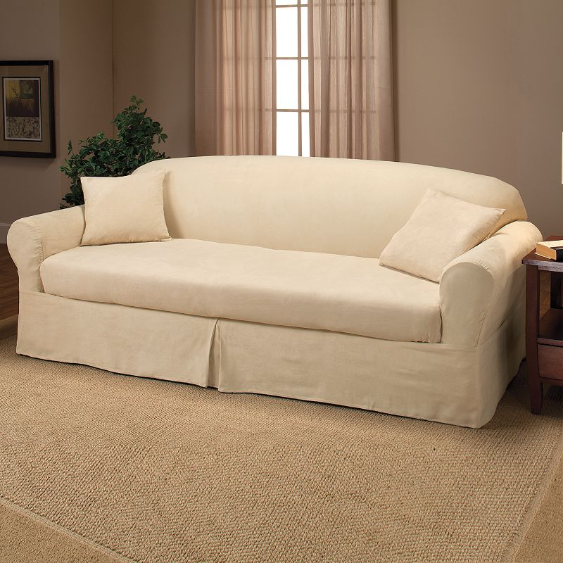 imported suede slipcover kohl 39 s