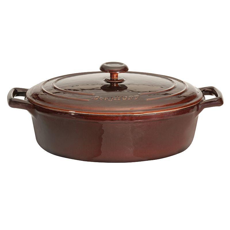 BergHOFF Neo Cast-Iron 3.4-qt. Oval Covered Casserole Dish