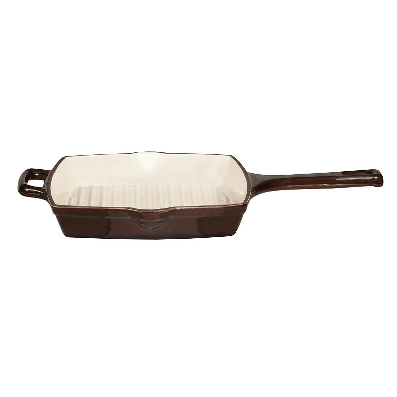 BergHOFF Neo Cast-Iron 10 1/4-in. Square Grill Pan