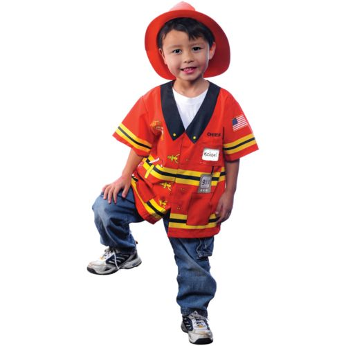 My First Career Gear Firefighter Costume - Toddler