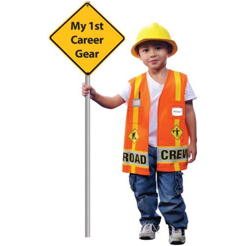 My First Career Gear Road Crew Costume - Toddler