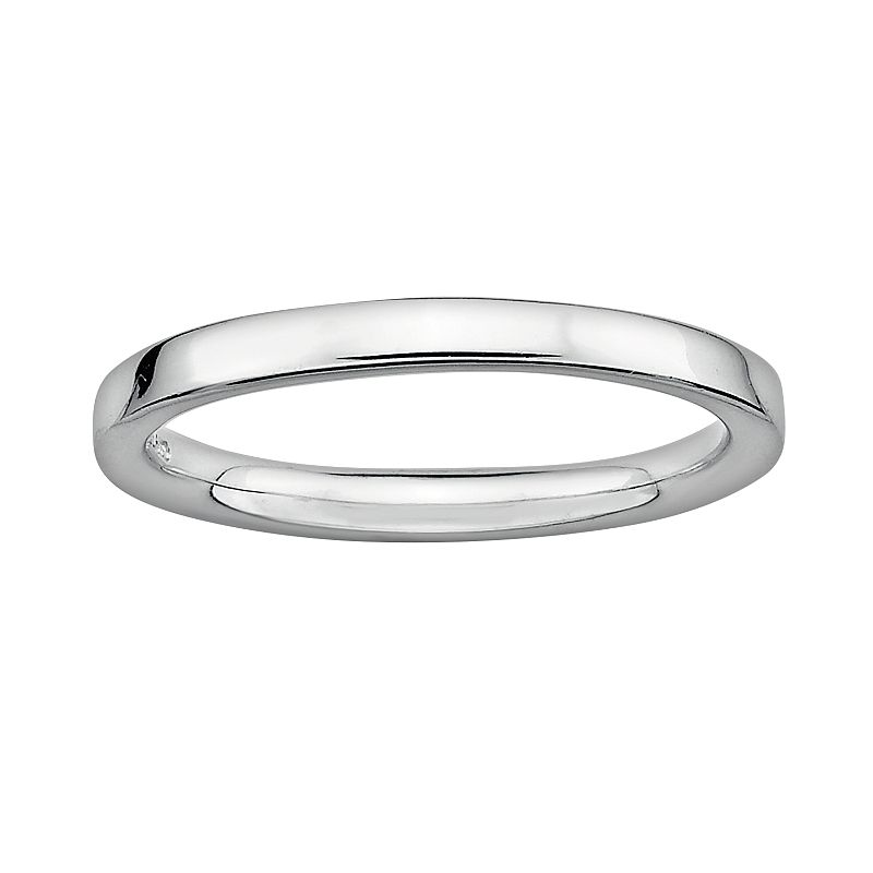 Stacks and Stones Sterling Silver Stack Ring