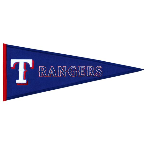 Texas Rangers Traditions Pennant