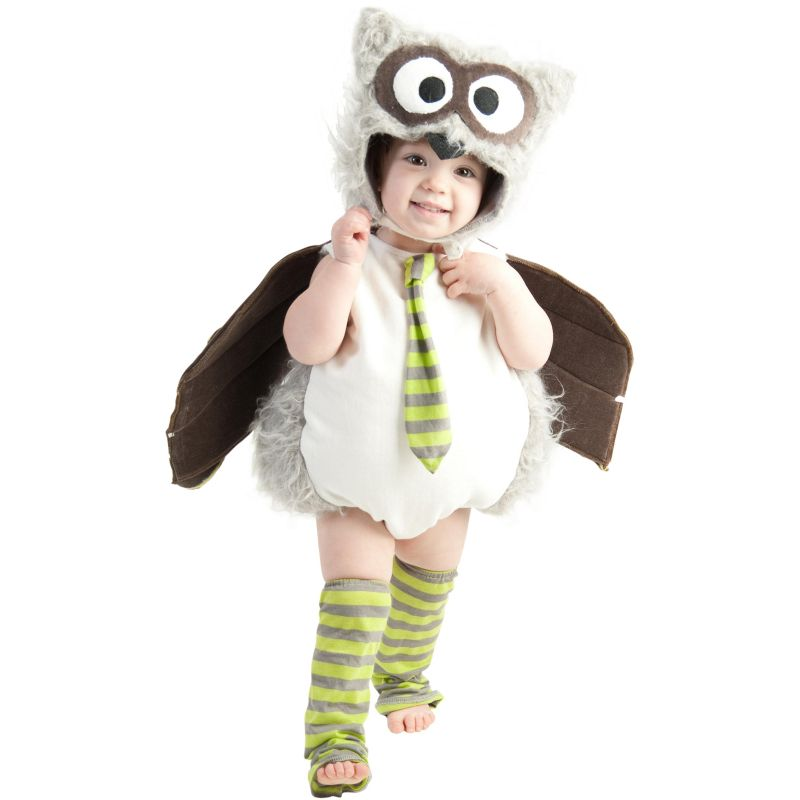 Owl Costume - Baby/Toddler (Blue)