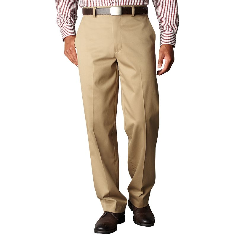 Men's Dockers® Signature Khaki D4 Relaxed-Fit Flat-Front Pants
