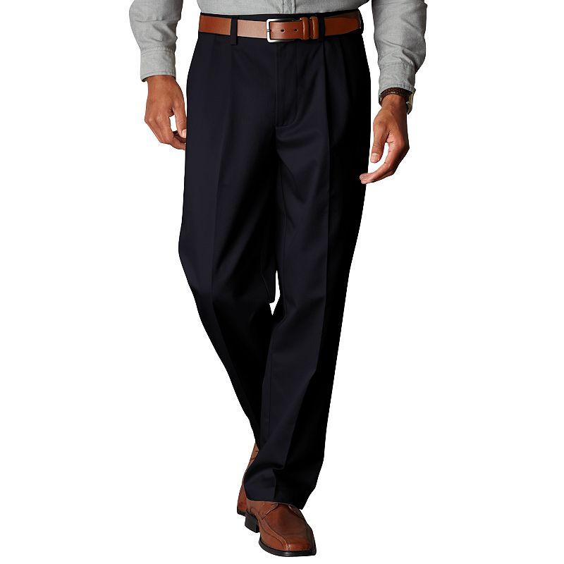 Men's Dockers® Signature Khaki D4 Relaxed-Fit Pleated Pants
