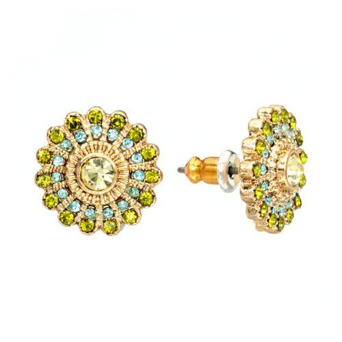 LC Lauren Conrad Flower Button Stud Earrings