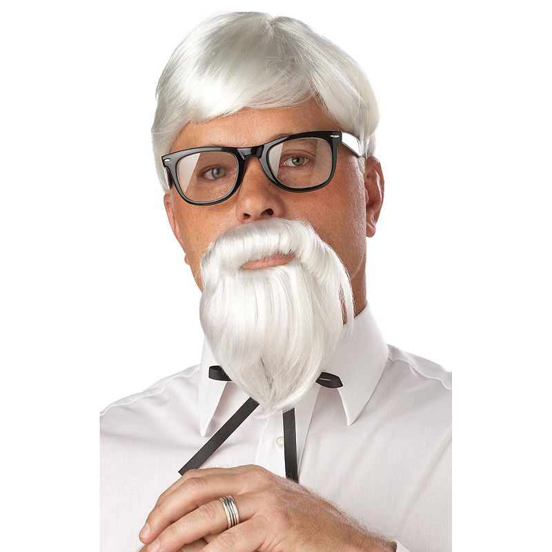 The Colonel Wig and Beard Set - Adult