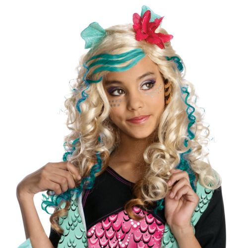 Monster High Lagoona Blue Wig - Kids'