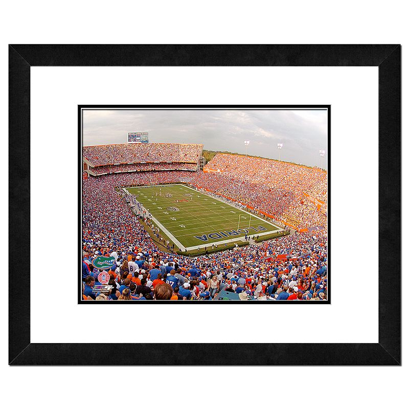 Florida Gators Ben Hills Griffin Stadium Framed Wall Art