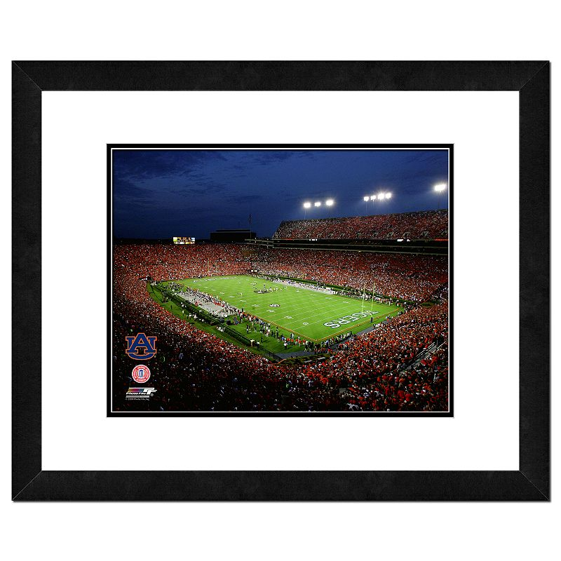Auburn Tigers Jordan Hare Stadium Framed Wall Art