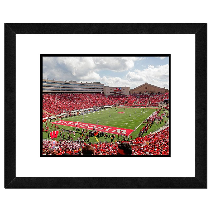 Wisconsin Badgers Camp Randall Stadium Framed Wall Art