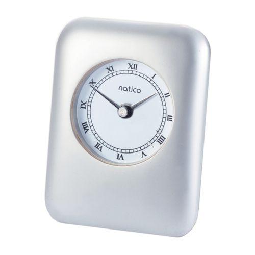 Contempo Pearl Silver Alarm Clock