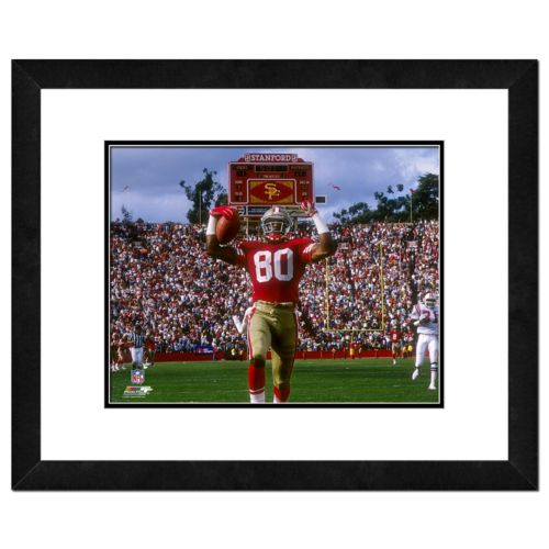 Jerry Rice Framed Player Photo