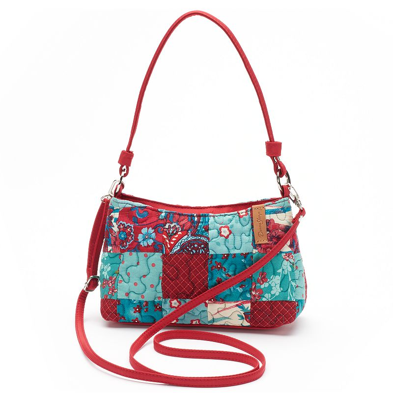 Donna Sharp Kylie Quilted Patchwork Mini Hobo
