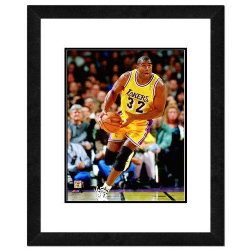 Magic Johnson Framed Player Photo