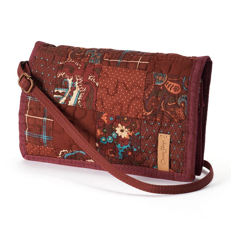 Donna Sharp Quilted Patchwork Convertible Wallet - Autumn