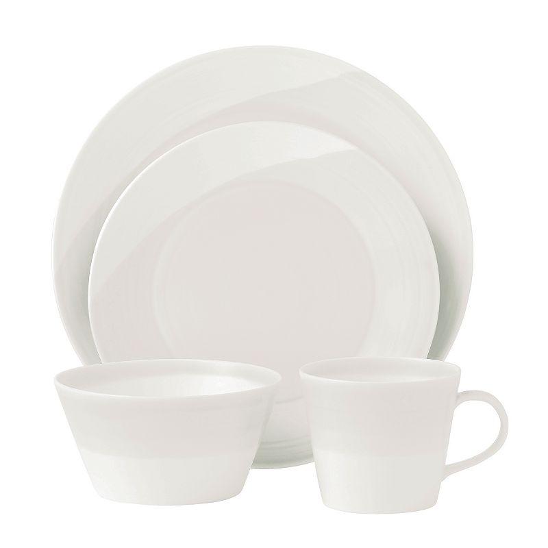 Royal Doulton 1815 White 16-pc. Dinnerware Set