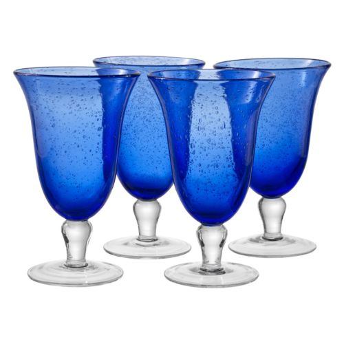 Artland Iris 4-pc. Footed Iced Tea Glass Set