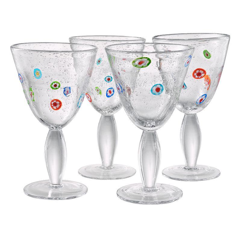 Artland Fiore 4-pc. Goblet Set
