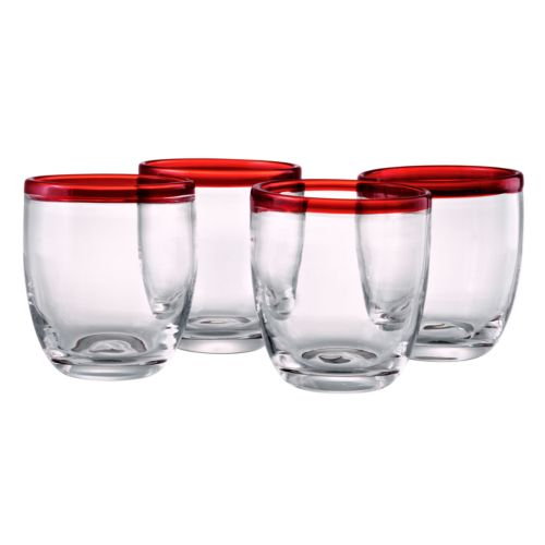 Artland Festival 4-pc. Double Old-Fashioned Glass Set
