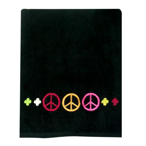 Allure Home Creations Peace Out Bath Towel