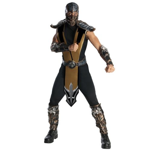 Mortal Kombat Scorpion Costume - Adult