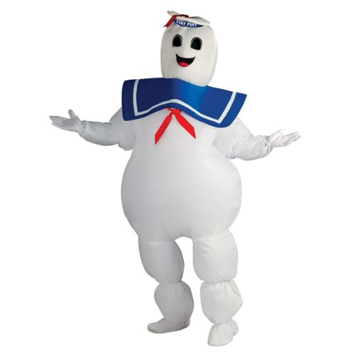 Ghostbusters Inflatable Stay Puft Marshmallow Man Costume - Adult