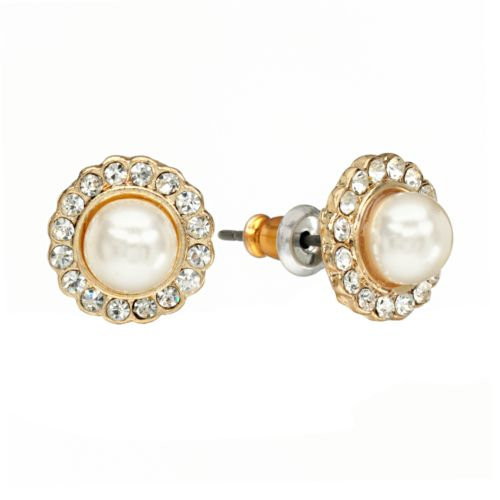 LC Lauren Conrad Flower Button Stud Earrings