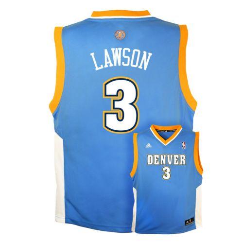 Boys 8-20 adidas Denver Nuggets Ty Lawson NBA Jersey