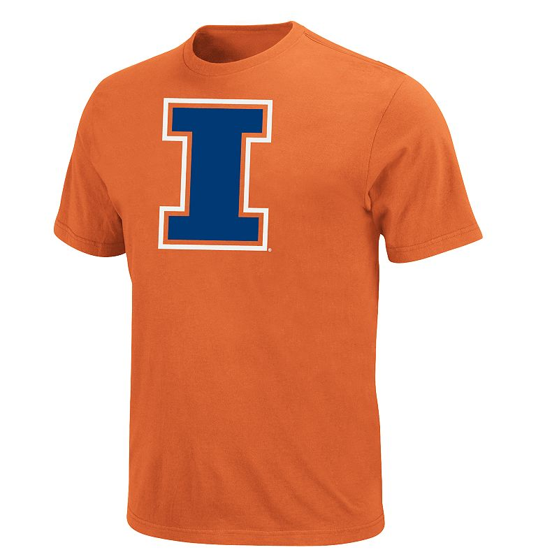 Men's Illinois Fighting Illini Football Icon Tee