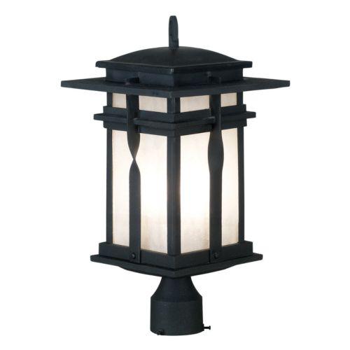 Carrington Post Lantern - Outdoor