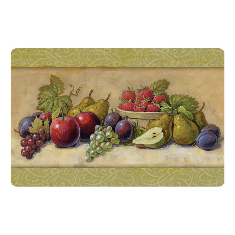 Fancy Fruit Kitchen Mat