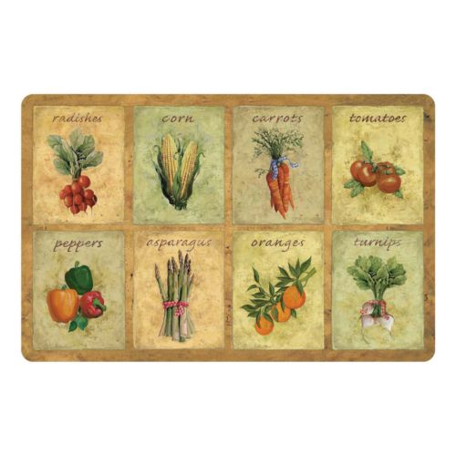 Vegetable Kitchen Mat