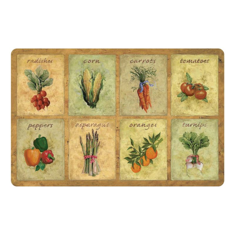 Vegetable Kitchen Mat Dealtrend