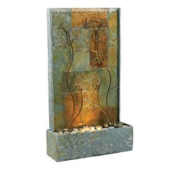 Copper Vines Floor Fountain Outdoor by