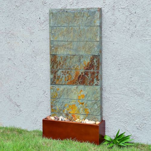 Brook Floor or Wall Fountain - Outdoor