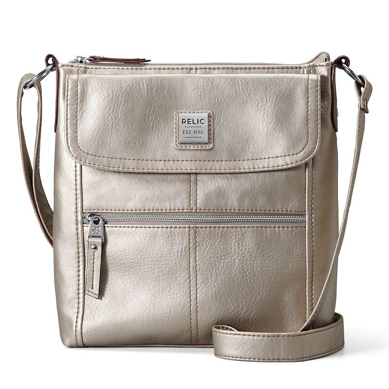 Relic Erica Flap Zip Crossbody Bag