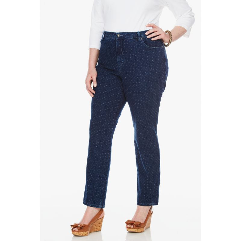 Plus Size Gloria Vanderbilt Amanda Color Tapered Jeans