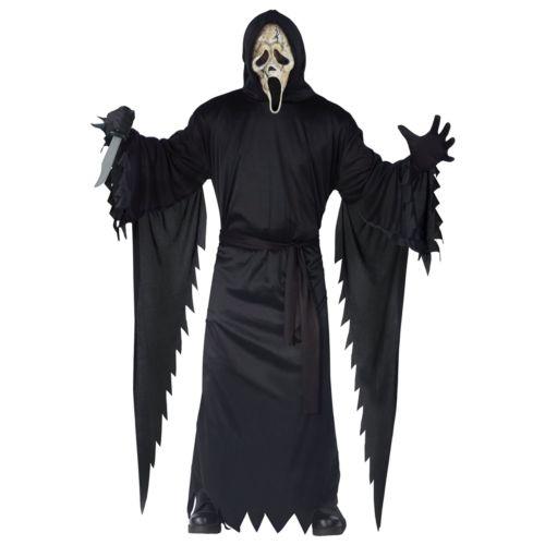 Scream 4 Zombie Ghost Face Costume - Teen