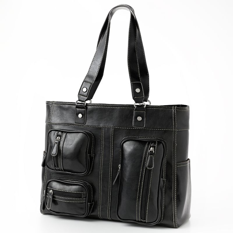 Croft & Barrow® Crystal Carla Pocket Tote