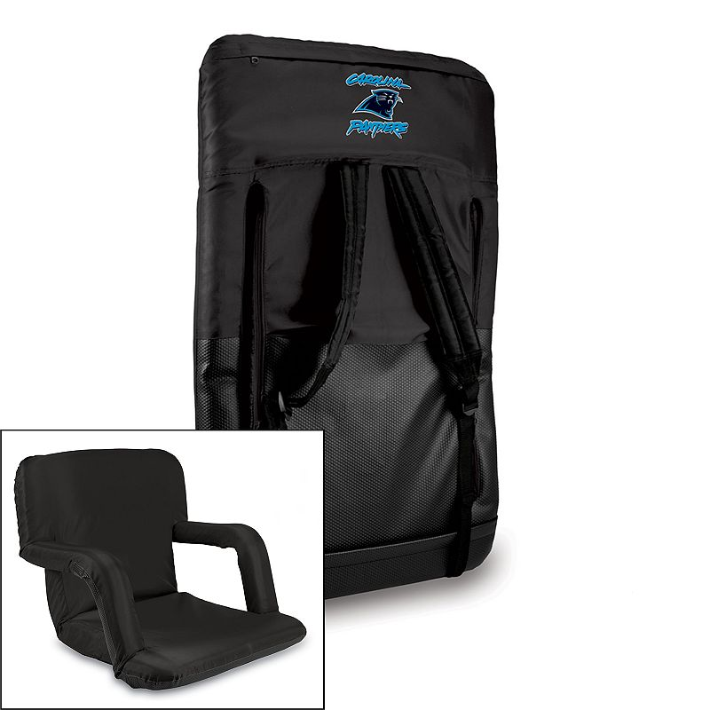 Picnic Time Carolina Panthers Ventura Portable Chair