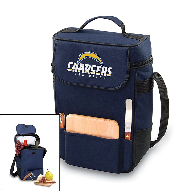 Picnic Time San Diego Chargers Duet Insulated Wine Tote