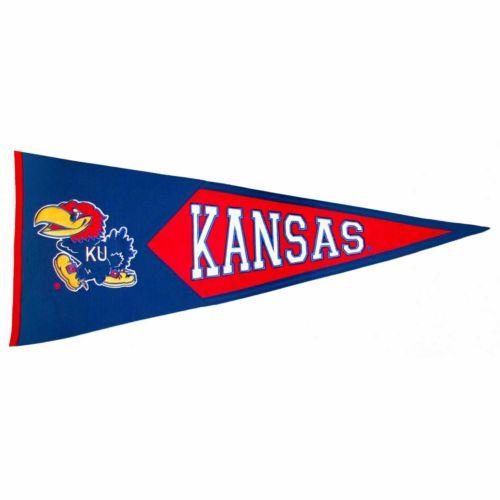 Kansas Jayhawks Classic Pennant