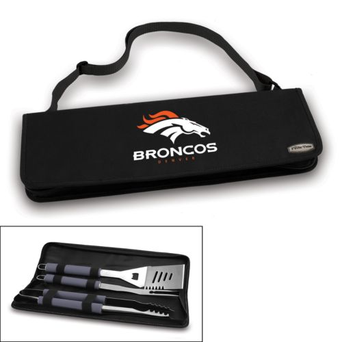 Picnic Time Denver Broncos Metro 4-pc. Barbecue Tote Set